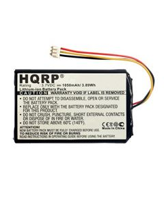 HQRP Battery for Harmony Touch 915-000198, Ultimate 915-000201 Universal Remote Control 533-000084 1209 plus HQRP Coaster