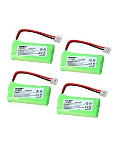 HQRP 4-Pack Phone Battery for AT&T Lucent CL82309, CL82359, CL82409, CL82509, CL82609, CL82659 + HQRP Coaster