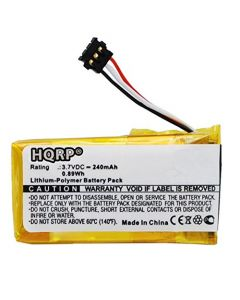 HQRP Battery for Logitech Ultrathin Touch Mouse T630 N-R0044 1311 533-000071 AHB521630PJT-01 910-003825 1110 + HQRP Coaster