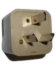 HQRP AC Adaptor Converts USA to ARG (Argentina) Outlet Travel Plug Adapter