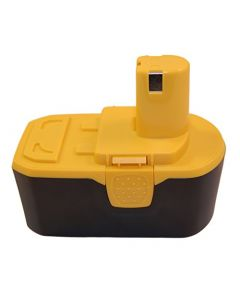 HQRP 18V 2200mAh Battery for Ryobi ONE+ CAD-180L, CAG-180M, CFA-180M, CFP-180FM, CJSP-1801QEOM, CJSP-180QEOM + HQRP Coaster