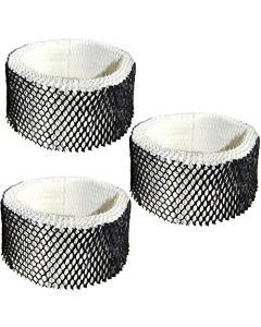 HQRP Filter 3-Pack for Sunbeam SWF62-CN1 #SWF-62 SWF62 SF-212 SF212 SCM1100 SCM1701 SCM1702 SCM1761 SCM1762 SCM2409 SCM41000 Humidifier + HQRP Coaster