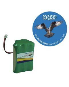 HQRP Battery for SYMBOL LS4070 LS4071 LS4074 LS7075 21-19022-01 21-19022-02 Bar Code Scanner, Motorola plus HQRP Coaster