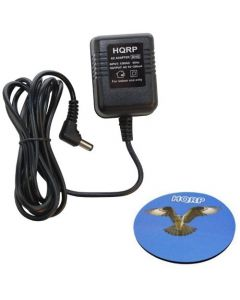 HQRP Charger / AC to AC Adapter for Black & Decker 90500898 5102400-03 / 5102293-10 / 510229310; 90500898-01 Replacement plus HQRP Coaster