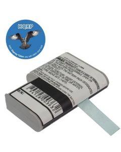 HQRP Battery for SYMBOL PDT-3100 PDT-3100EP PDT-3110 PDT-3110EP PDT-3120 Bar Code Scanner, Motorola plus HQRP Coaster