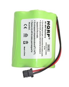HQRP 2200mAh Battery for Uniden BEARCAT SPORTCAT BP-180 BP180 BP-250 BP250 BBTY0356001 Replacement plus HQRP Coaster