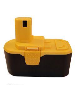 HQRP 18V 2200mAh Battery for Ryobi ONE+ CHI-1802M, CP-180M, CPL-180M, CRA-180M, CRO-180M, CST-180M + HQRP Coaster