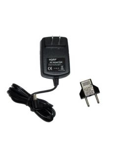 HQRP AC Power Adapter Charger compatible with Tivoli PAL iPAL Radio fits PAL-PS MA-1 MA-2 MA-3 Battery plus Euro Plug Adapter