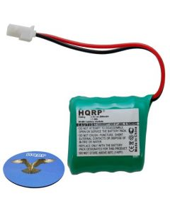 HQRP Battery for Quick Check 150, 200 Series Bar Code Verifier QC150 QC200 3120334201 31203342-01 098 HANDHELD Welch Allyn Data Collection PSC + HQRP Coaster