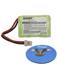 HQRP Battery for SportDOG SDT00-11911, 650-104, DC-23, KINETIC MH250AAAN6HC Sport DOG Remote Training Transmitter Replacement + Coaster