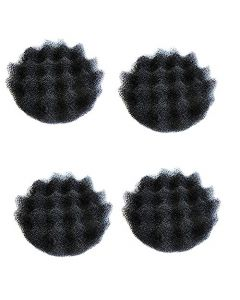 HQRP 4-pack Bio-Foam pads for Fluval FX5, FX6 Aquarium Filter / High Performance Canister Filters A239, 015561102391 Replacement + HQRP Coaster