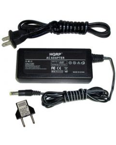 HQRP AC Adapter / Power Supply compatible with HP Photosmart C7311 / C7311A / C7311-80001, fits C200, C200CL, C200xi Digital Camera with USA Cord & Euro Plug Adapter