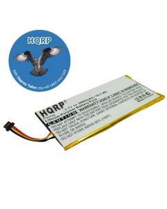 HQRP Battery for PANDIGITAL Novel 7 Portable EBook Reader PRD07T20WBL1 PRD07T40WBL1 PRD07T20WBL7 545788978 541383570001 AL2740384A43 RR7T40WR1 BP-S21-11/2740 LS Digital Book E-Reader Tablet + Coaster