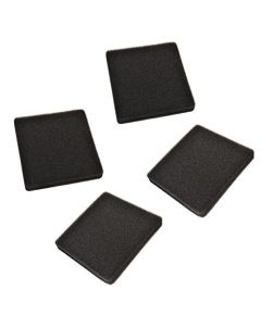 HQRP 4-pack Replacement 30 ppi Foam Pads for Rena Filstar xP XP-1 XP-2 XP-3 XP-4 XPS XPM XPL XPXL Aquarium Canister Filter + HQRP Coaster