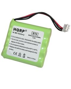 HQRP Battery compatible with Philips Pronto TSU3000, TSU3500, TSU6000, TSU7000, TSU7500 Remote Control plus Coaster