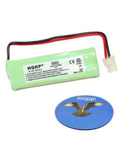 HQRP Phone Battery compatible with Vtech BT183482 BT283482 89-1348-01 2.4V 400mAh NI-Mh plus HQRP Coaster