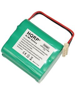 HQRP 2200mAh Battery for Mint 4200 GPHC152M07 Ultra High Capacity [Robotic Vacuum Cleaner] plus HQRP coaster