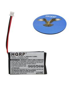 HQRP Battery for Nintendo Game Boy Micro Game Console OXY-001 GPNT-02 OXY-003 OXY-002 + HQRP Coaster