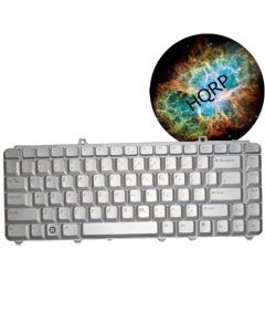 HQRP Laptop Keyboard for Dell D9K01 / DN736/ JM639 / MU194 Notebook Replacement plus HQRP Coaster