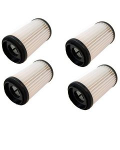 HQRP Washable HEPA Filter 4-Pack for Sears Kenmore DCF-1 DCF-2 82912 82720 8192244 20-82912 20-82720 0208272000 02082720000 KER-1810 471178 02080000000 02080008000 8192124 Vac Vacuum Cleaner + Coaster