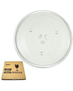 HQRP 10-inch Glass Turntable Tray for Oster O-3517203600 OM0782 OM0782BCF OMO782 OMO782BCF Microwave Oven Cooking Plate 255mm + HQRP Coaster