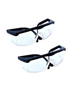 HQRP 2 pair UV Protecting Glasses for Medical / Dental clinic, Surgery, Pathology lab, Dentists, Forensic experts, Physiotherapists + HQRP UV Meter