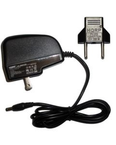 HQRP AC Adapter for Casio LK-160 / LK160 / LK-165 / LK165 / LK-247 / LK247 Keyboards Power Supply Cord plus HQRP Euro Plug Adapter