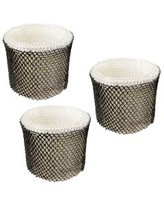 HQRP Filter 3-pack for Sunbeam HWF64CS HWF64 SCM1745 SCM1746 SCM1747 Type-E Humidifier + HQRP Coaster