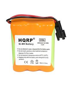 HQRP SUPER Extended 2600mAh Battery compatible with Tivoli Audio Battery Pack MA-1 MA-2 MA-3 Replacement plus HQRP Coaster