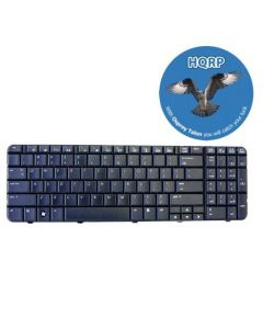 HQRP Laptop Keyboard compatible with HP G60-442OM / G60-443CL / G60-443NR / G60-445DX Notebook Replacement plus HQRP Coaster