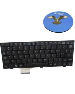 HQRP Replacement Keyboard for Asus Eee PC 901 900 series (Black) Netbook / Subnotebook plus HQRP Coaster