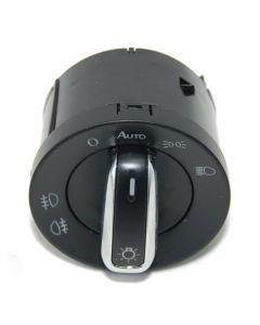 HQRP Headlight Switch for Volkswagen Passat 2005 / 2006 / 2010 Passat CC B6 2009 / 2010 / 2011 / 2012 plus HQRP Coaster