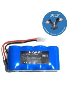 HQRP 3000mAh Extended Battery for Euro-Pro Shark battery pack XB1918 Cordless Sweepers Replacement plus HQRP Coaster