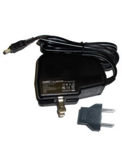 HQRP Wall AC Power Adapter compatible with Sony HandyCam CCD-TR516 CCD-TR67 DCR-DVD100 DCR-DVD101 Camcorder - (incl. USA Plug & Euro Adapter)