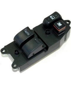 HQRP Master Control Switch for Toyota Tundra (2 door) 2000 / 2001 / 2002 / 2003 / 2004 / 2005 / 2006 plus HQRP Coaster