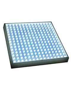 HQRP 255 LED White Aquarium Reef Corals Grow LED Light Panel 13.8W 7000K + Hanging Kit + UV Meter