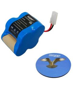 HQRP Rechargeable Battery 4.8v 2.0Ah for Euro-Pro Shark Sweeper VX1 / X8905 / V1930 / V1700Z Cordless Floor-and-Carpet Cleaner Replacement plus HQRP Coaster