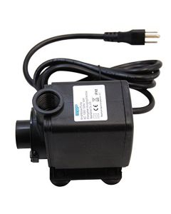 HQRP Extra High Power 3500L/H 925 GPH 65W Aquarium Fish Tank Fountain Hydroponic Submersible Water Pump for Fresh Water and Salt Water plus HQRP UV Meter