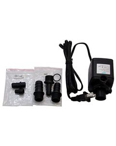 HQRP Submersible Water Pump for Aquarium, Pond, Fountain, Hydroponic, Aquaponic, Pool, Fish Tank 215 GPH + HQRP Coaster