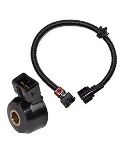 HQRP Knock Sensor w/ Wiring Harness for Nissan Maxima 92 93 94 95 96 97 98 99 1992 1993 1994 1995 1996 1997 1998 1999 plus HQRP Coaster