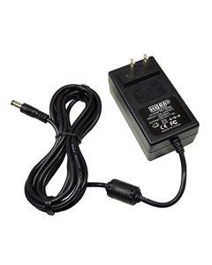 HQRP AC Adapter for Horizon Fitness 088261 fits 2.3E 3.2E 3.3E 4.2E 4.3E CSE3.5 CSE3.6 CSE4.5 CSE4.6 E901 Elliptical Power Supply Cord + Euro Plug Adapter