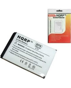 HQRP 750mAh Replacement Battery for Creative Zen Micro DAA-BA0005 MP3 Player Li-Ion Extra High Capacity ! + HQRP Screen Protector