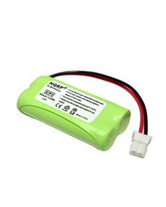 HQRP Cordless Phone Battery compatible with VTech BT162342 BT262342 89-1347-01-00