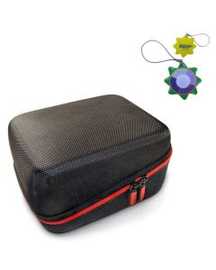HQRP Hard Case for Care Touch Fully Automatic Upper Arm Blood Pressure Monitor plus HQRP UV Meter
