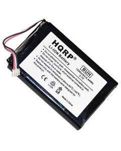 HQRP 1200mAh Battery for GARMIN 361-00035-03 Nuvi 2450 2450LMT 2455 2455LMT 2455LT 2460 2460LMT 2475 2457 2457LMT 2460 2460LT 2497 2497LMT 361-00051-01 361-00061-02 GPS Navigator + HQRP Coaster