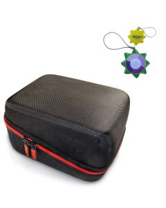 HQRP Hard Case for Vive Precision Automatic Upper Arm Blood Pressure Monitor plus HQRP UV Meter